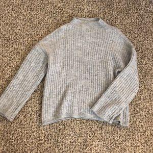 Super soft grey sweater